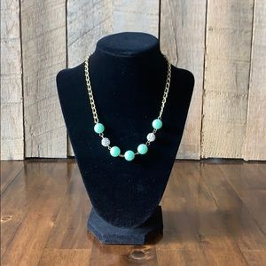 NWT Jade green Necklace/earring set